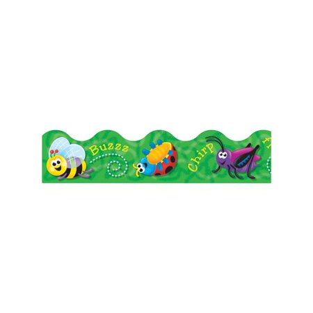 Jelly Bugs Border - TREND enterprises, Inc. Trimmer Cartoon Bugs Classroom Border