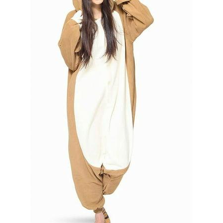 cosplay Womens Sleepwear Large Dog Fuzzy One Piece L Cosplay One Piece