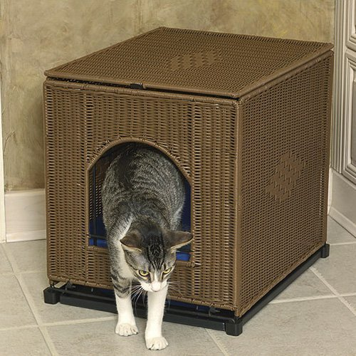 Mr Herzhers Decorative Litter Box Cover