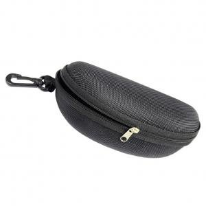 Fancyleo 3 Pcs Sunglasses Case for Glasses, Eva Portable Sports Sunglasses Case with Hook ()