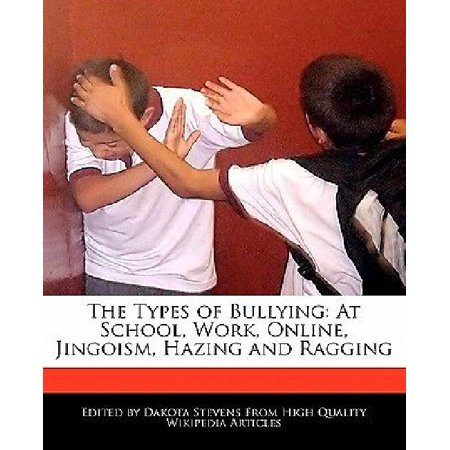 The Types Of Bullying  At School  Work  Online  Jingoism  Hazing And Ragging