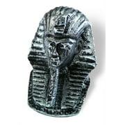 Impala Pharaoh Knob 74 mm. OL (Set of 10) (Antique Silver)