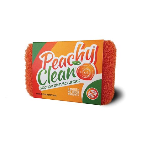 8352-HIC Peachy Clean Silicone Scrubber Home Decor Products, Ship from USA,Brand