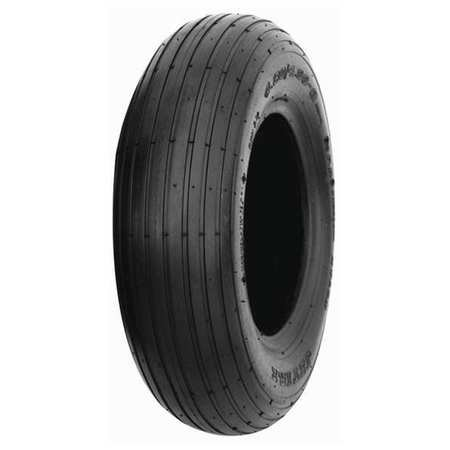 HI-RUN Wheelbarrow Tire 4.80/4.00-8 4PR RIB -