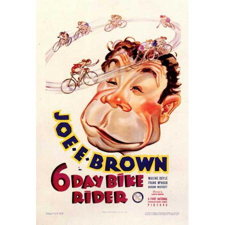 Dirt Bike Rider Halloween Costumes (6 Day Bike Rider POSTER (11x17))