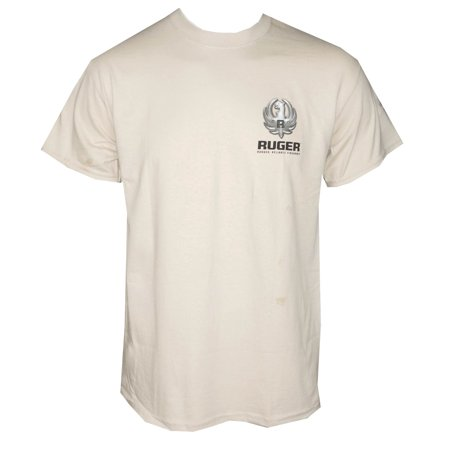 Ruger Firearms Mens Kryptek Metal T Shirt Sand