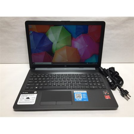 Refurbished HP 4BM05UA 15-db0051od Laptop PC - AMD Ryzen 3 2200U 2.5 GHz Dual-Core Processor - 8 GB DDR4 SDRAM - 1 TB Hard Drive - 15.6-inch
