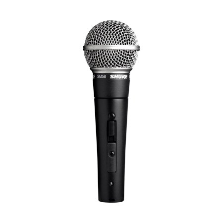 Shure SM58S Dynamic Vocal Microphone with On/Off Switch