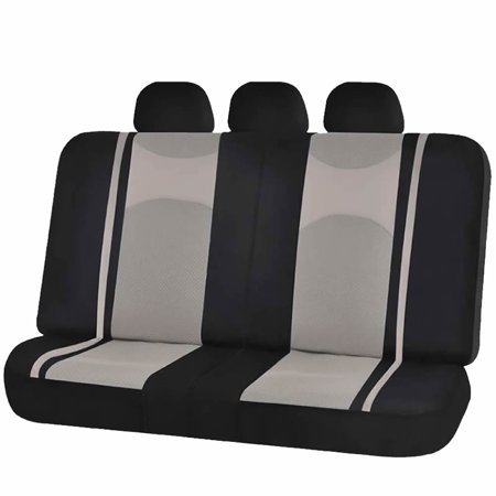 U A A Inc 5pc Mesh Honeycomb Split Back Bench Seat Cover Universal Fit For Car Truck Suvs Van