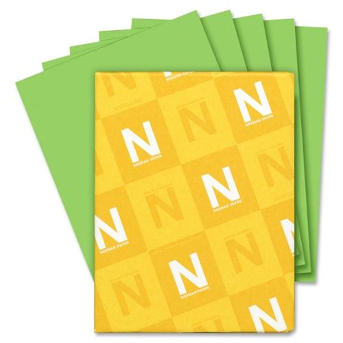 "Astrobrights Astrobrights Colored Paper - Letter - 8.50"" x 11"" - 24 lb Basis Weight - Smooth - 500 / Ream - Green"