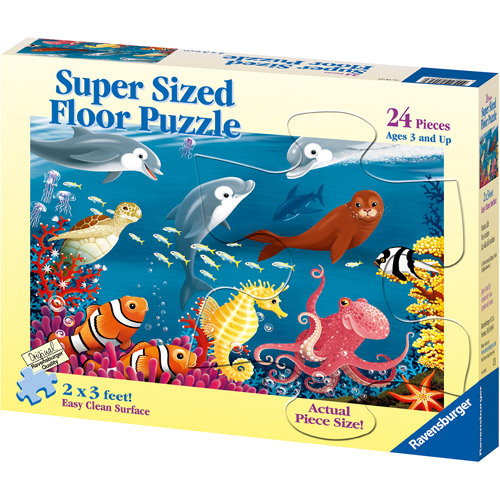 Ravensburger Ocean Life Super-Sized Floor Puzzle