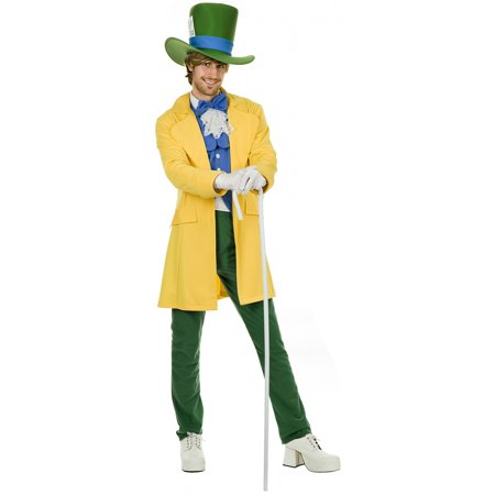 Mad Hatter Adult Costume - Small
