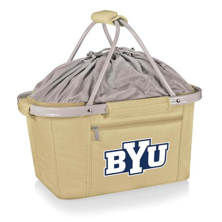 Metro Embroidered Basket in Beige - BYU Cougars