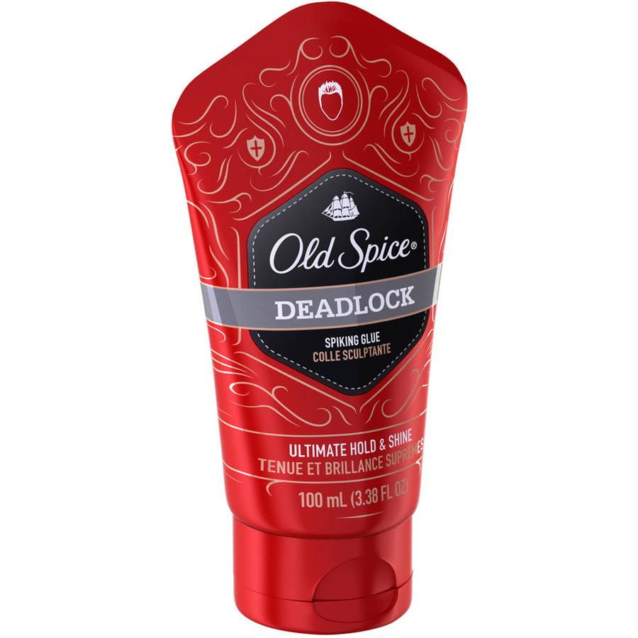 P & G Old Spice Deadlock Spiking Glue, 3.38 oz