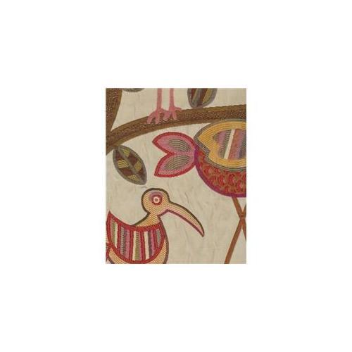 Swavelle CRASUN7 Crazy Ol Bird Sunshine 61% Rayon 39% Polyester Fabric, 54 inch Width, 7 yds long