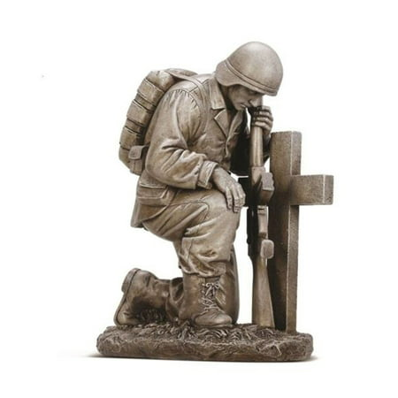 Napco Kneeling Soldier by Cross 8