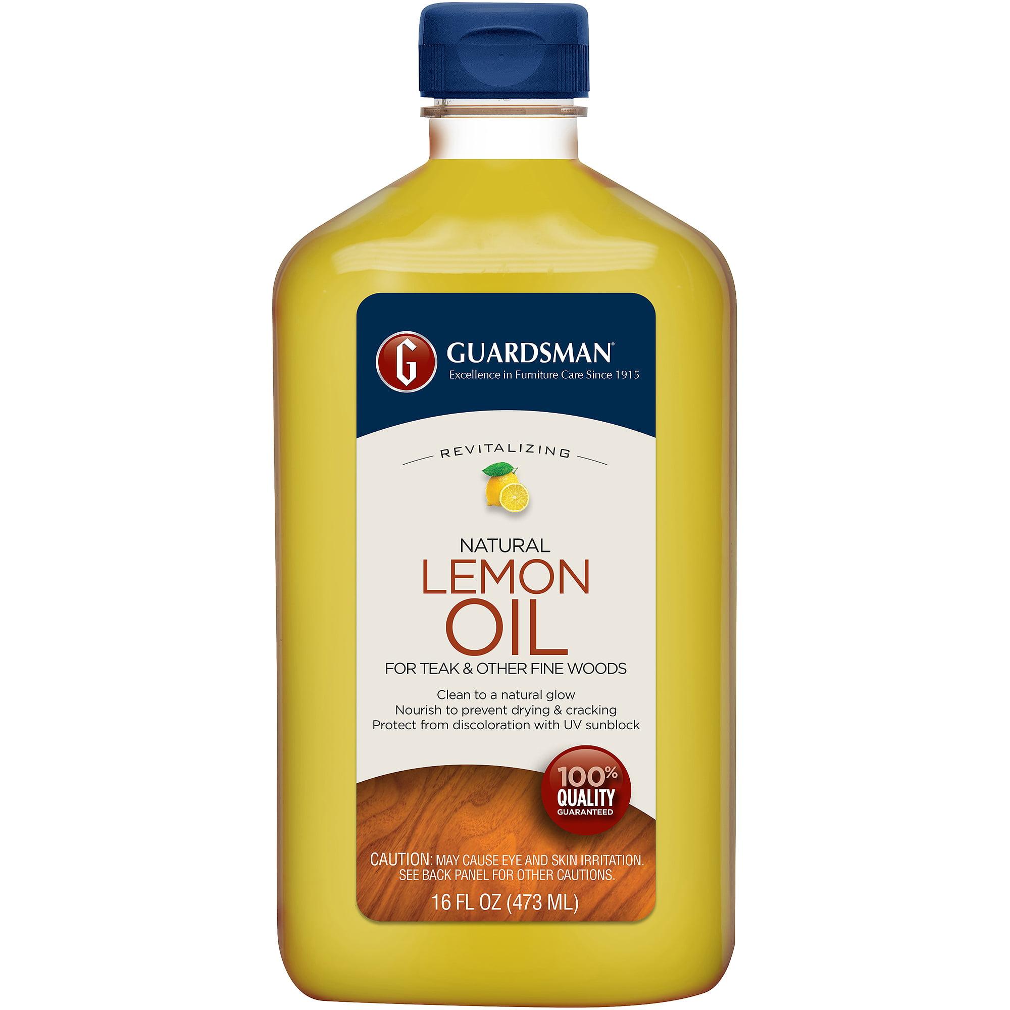 Guardsman Revitalizing Lemon Oil, 16 fl oz