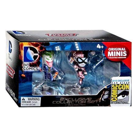 DC Comics Original Minis The Joker & Harley Quinn Mini Figure 2-Pack