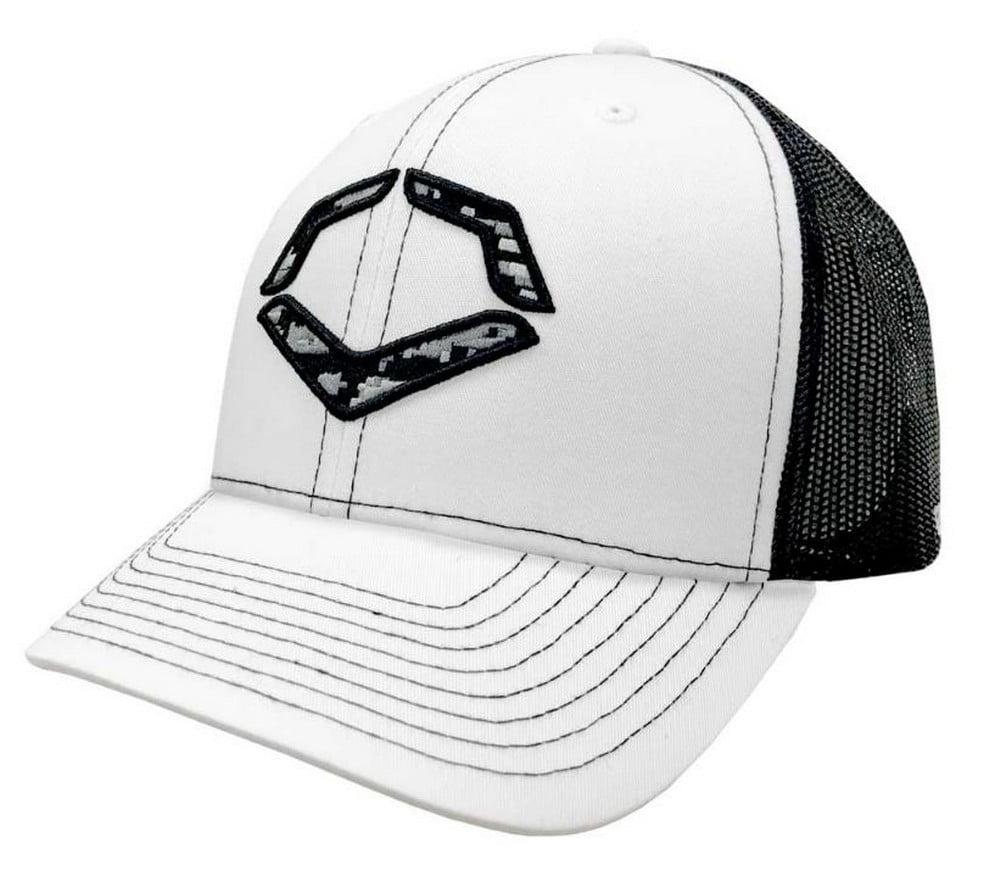 promo code bd294 3c124 ... sweden evoshield snapback trucker hat digicamo logo baseball cap white  black wtv1034330 02fea c0a51