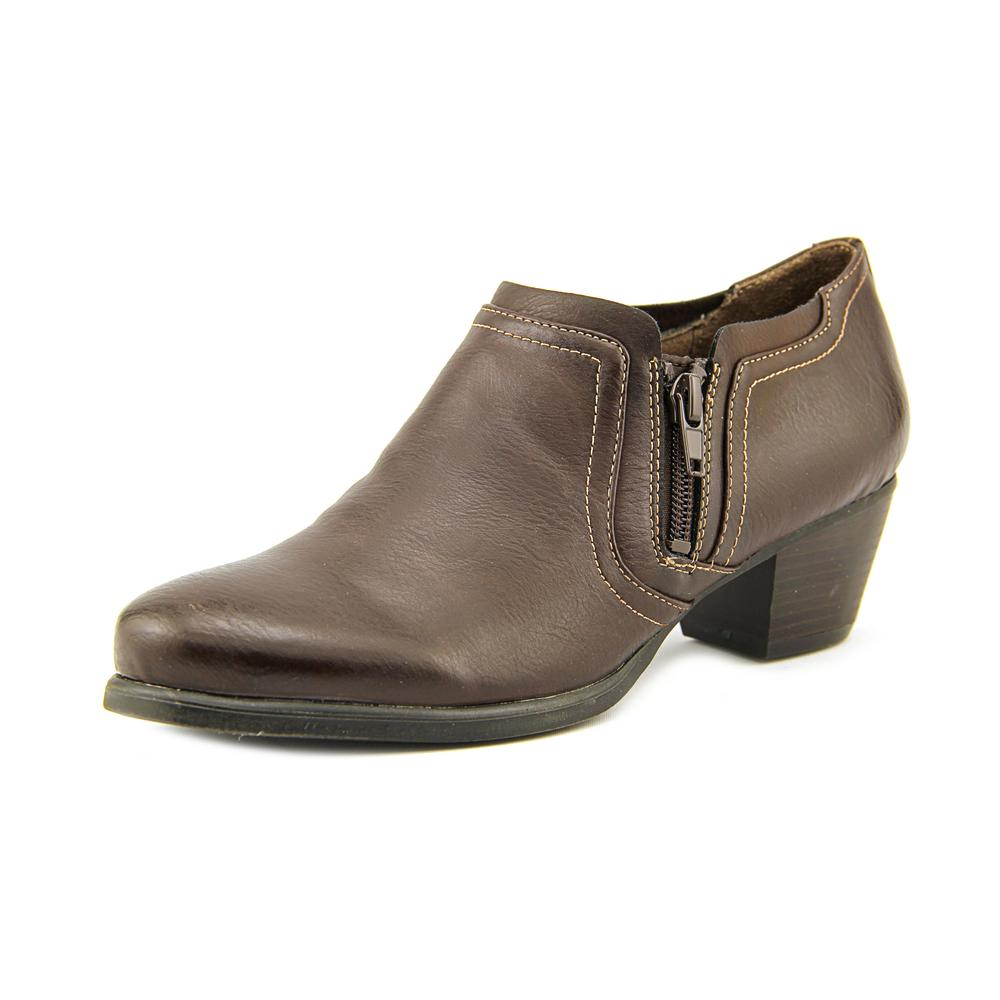 Naturalsoul by Naturalizer Kasta Round Toe Synthetic Bootie by NaturalSoul by Naturalizer