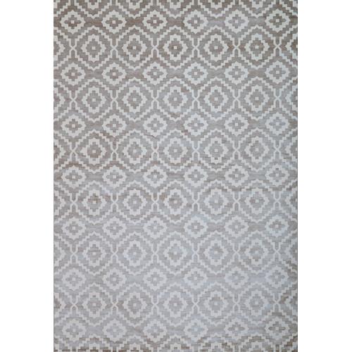 "Image of Abacasa Sonoma Verona Silver Grey, White 7'10"" x 11'2"" Rug"
