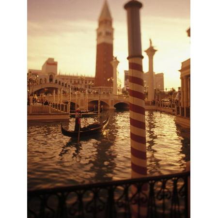 Las Vegas Themes (Venetian Theme Resort, Las Vegas Print Wall Art By Stuart)