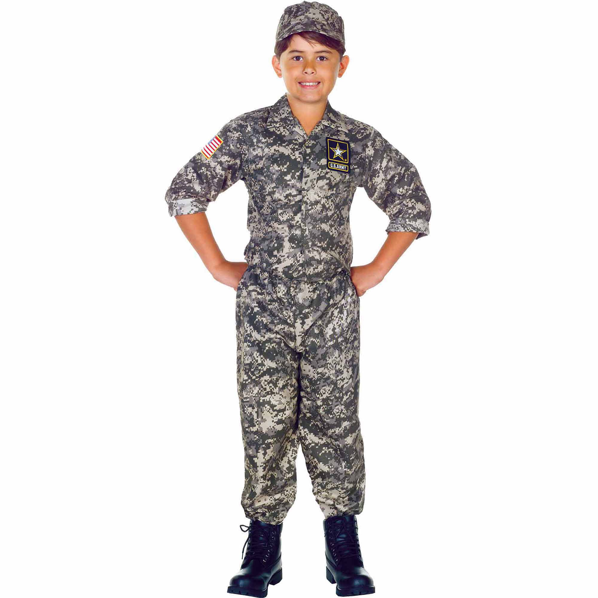 halloween Boys costume army