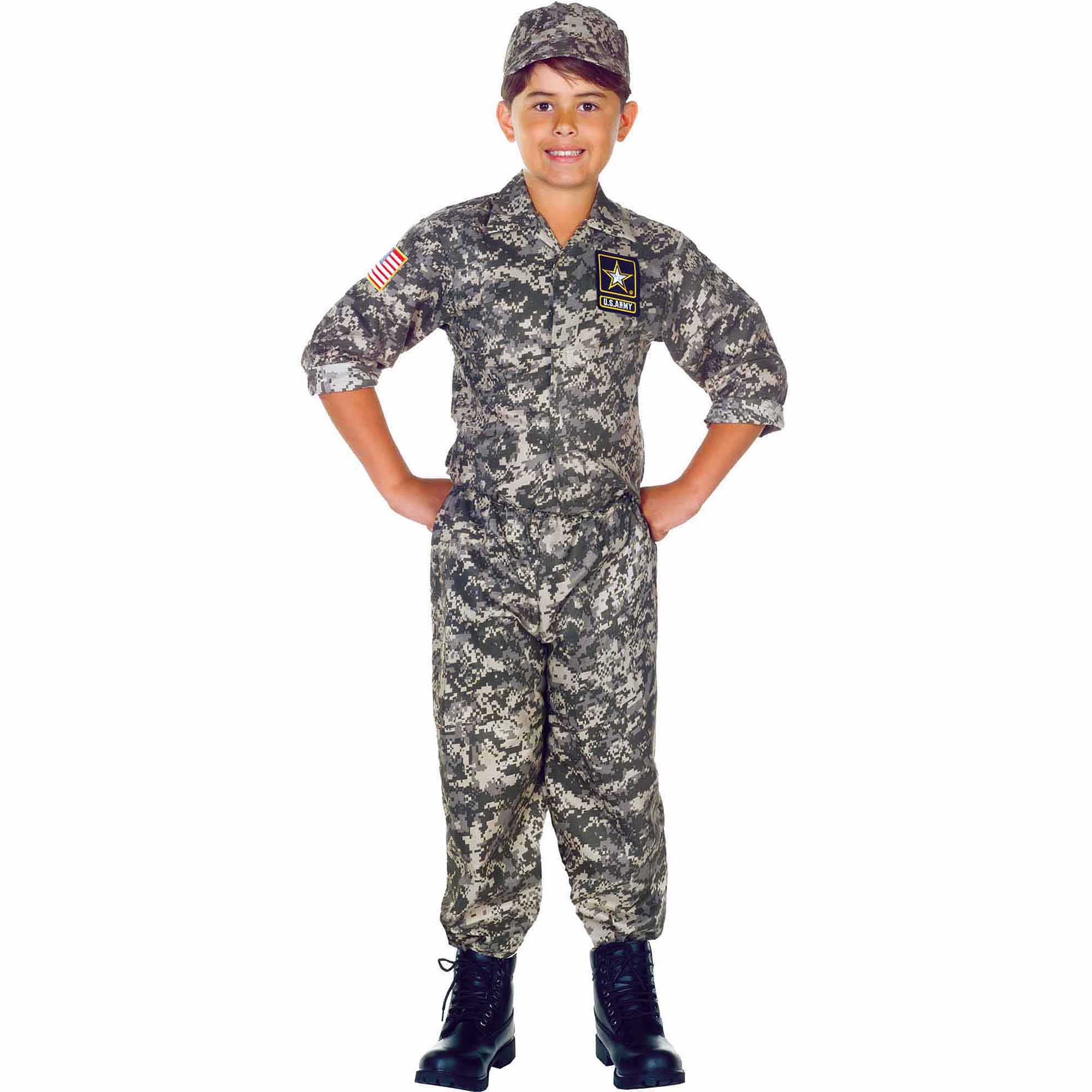us army camo set child halloween costume walmartcom - Halloween Army Costumes