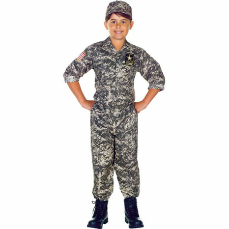 U.S. Army Camo Set Child Halloween Costume - Army Costume Accessories