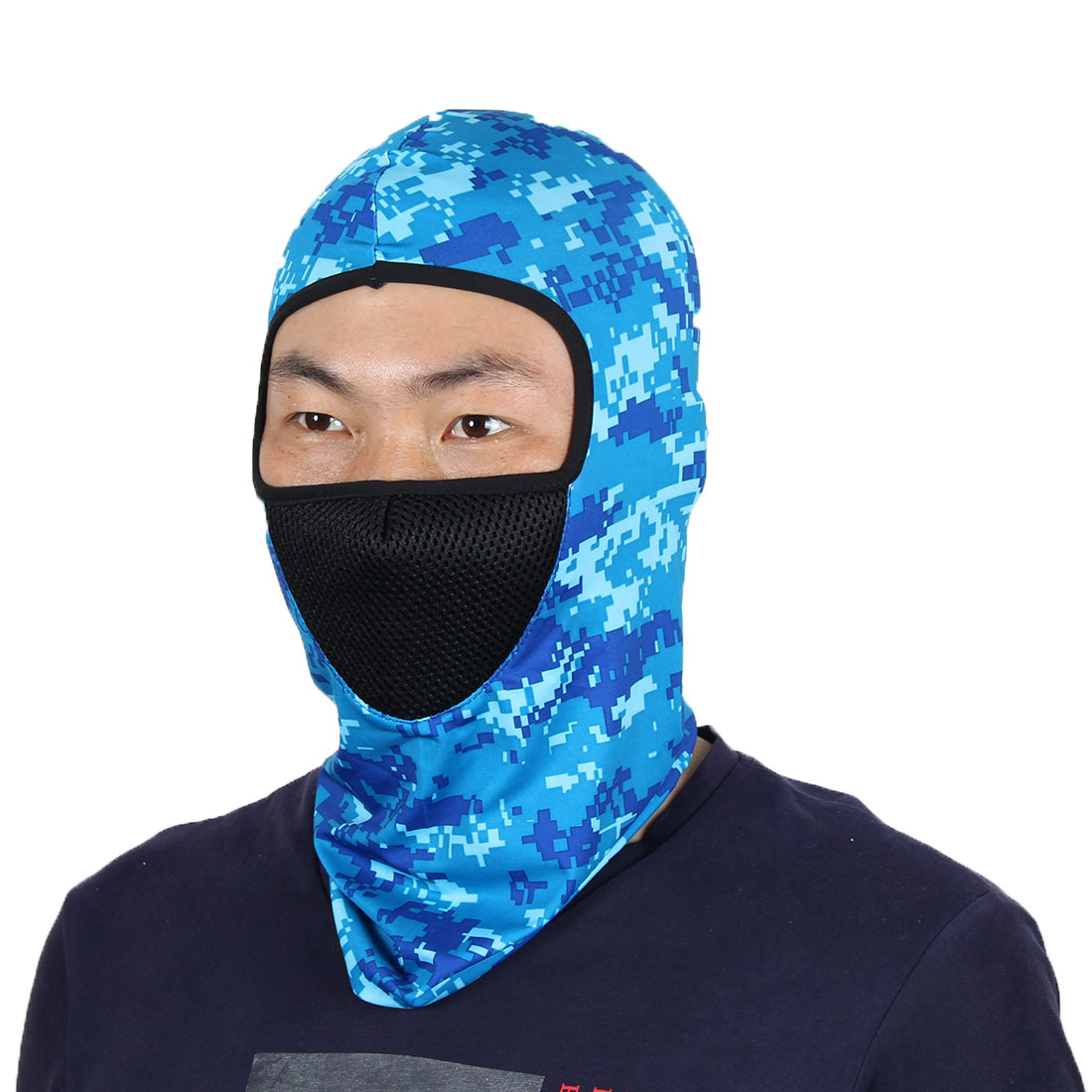 Full Face Mask Warm Cycling Neck Protector Hat Helmet Balaclava Camouflage by Unique-Bargains