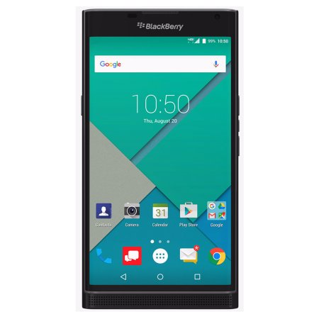 Certified Pre-Owned BlackBerry PRIV STV100-3 32GB Unlocked GSM 4G LTE Hexa-Core Phone w/ 18MP Camera - Black