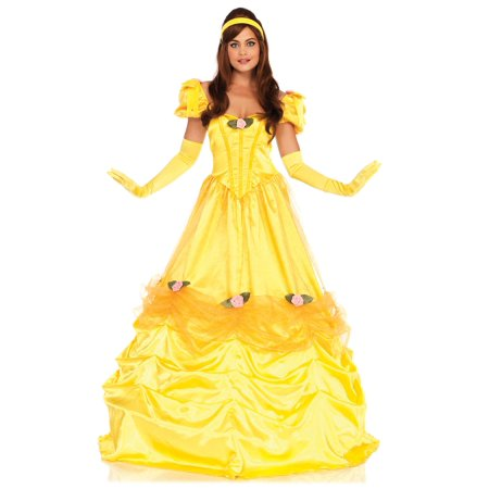 Leg Avenue Women's Belle of the Ball Beauty (Women's Yellow M&m Costume)