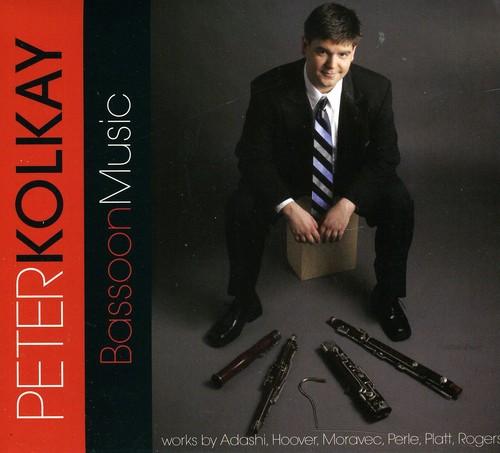 Peter Kolkay Bassoon Music [CD] by