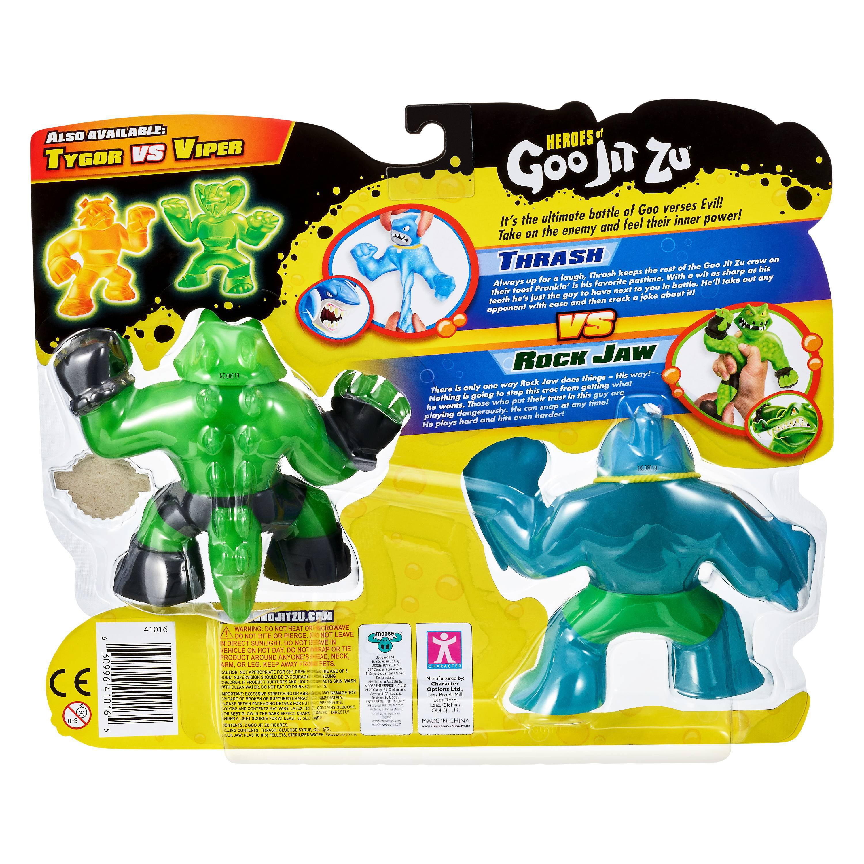 Heroes of Goo Jit Zu Thrash ~ Action Figure Super Stretchy