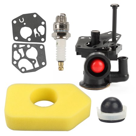 Air Assist Kit (HIPA Carburetor For Briggs & Stratton 795477 498811 795469 794147 699660 794161 791384 Carburetor Air filter Tune Up Kit )