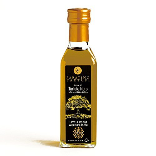 Sabatino Black Truffle Oil 3.4 oz each (5 Items Per Order) by