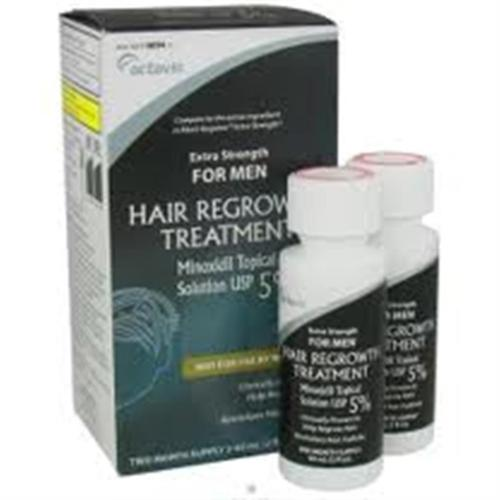 Minoxidil 5% Extra Strength Hair Regrowth Treatment Solution 2 x 60 ml [2 month supply] (Pack of 6)