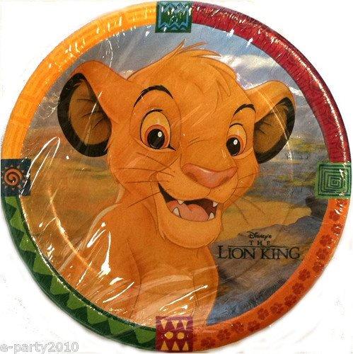Lion King u0026 Friends Small Paper Plates ... & Lion King u0026 Friends Small Paper Plates (8ct) - Walmart.com