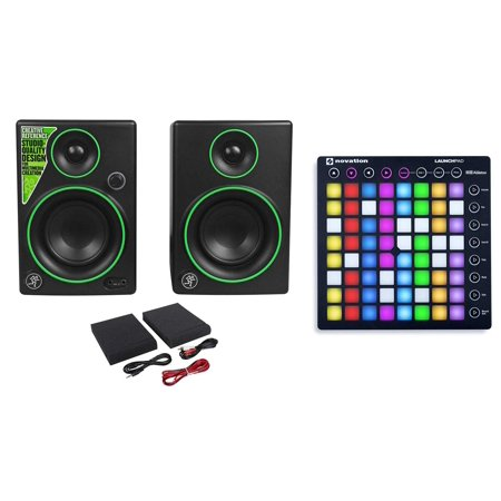 - Novation LAUNCHPAD S MK2 MKII USB Music Controller Pad + Mackie Monitor Speakers