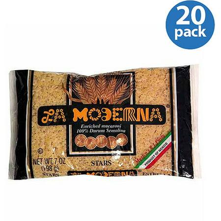 La Moderna Stars Pasta  7 Oz   Pack Of 20