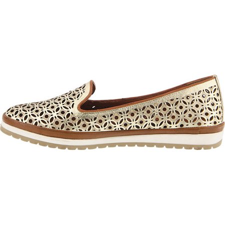8d87cba9184d Women s Spring Step Tulisa Loafer Gold Leather 39 M - image 3 ...