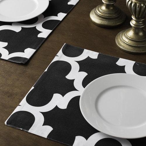 Linen Tablecloth Trellis Placemat (Set of 4)