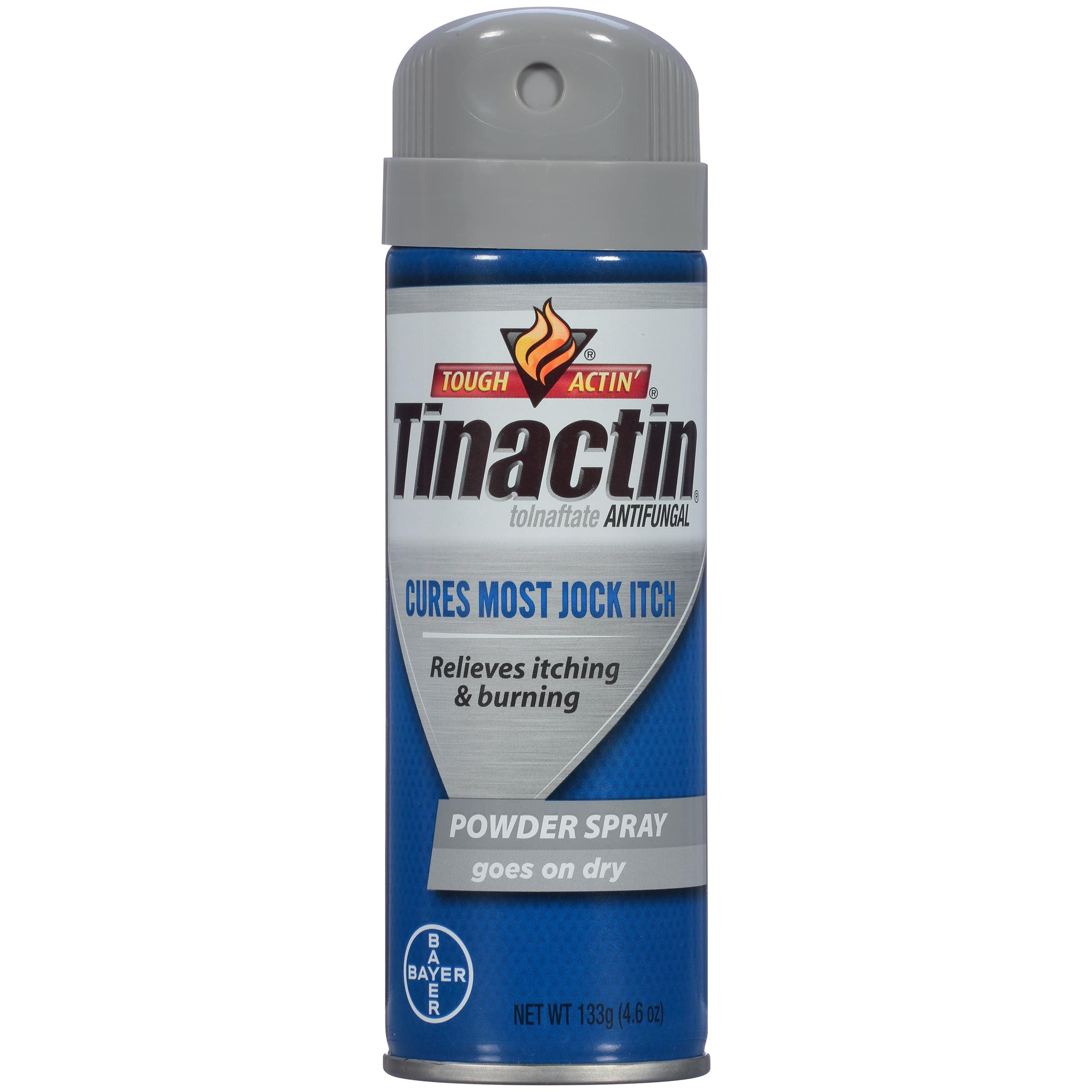 Tinactin Jock Itch Antifungal Treatment Powder Spray, 4.6 Ounce Can