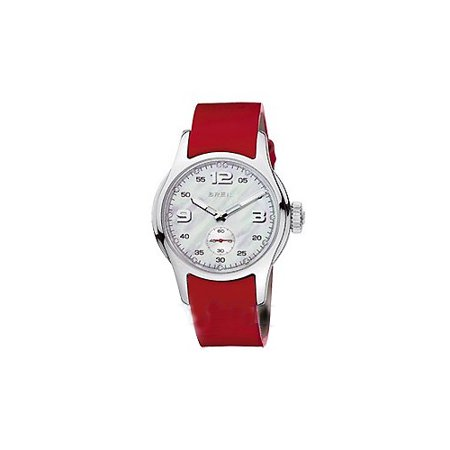WATCH BREIL STEEL NACRE RED WOMAN BW0208 - image 1 of 1