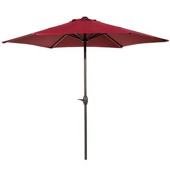 Grand patio 9 FT Enhanced Aluminum UV Protected Outdoor Umbrella
