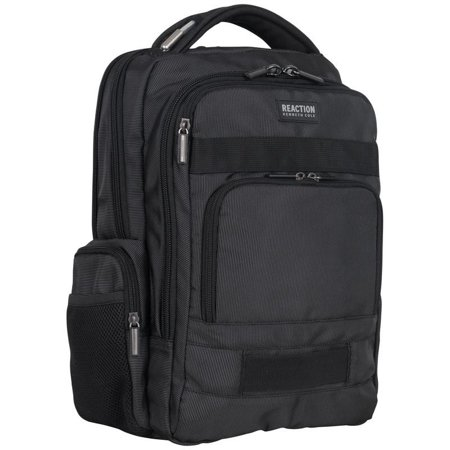 Kenneth Cole Reaction  Triple Compartment Multi-Pocket 17-inch Laptop Business Backpack With Anti-Theft