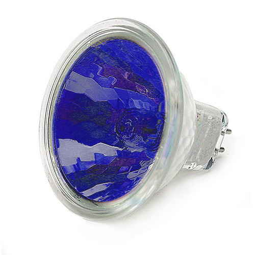 USHIO FNF 50w MR16 12v w/ Front Glass Blue Spot SP12 FG Tungsten halogen bulb