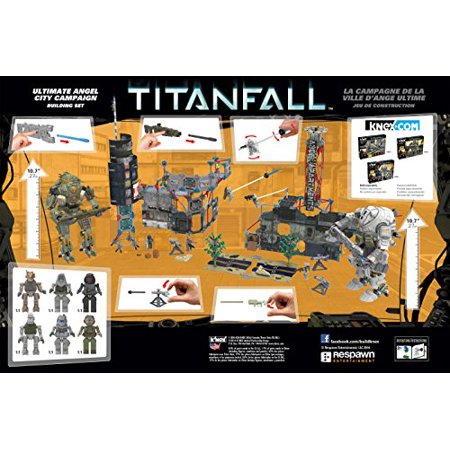 K'nex Titanfall - Ultimate Angel City Campaign Building Set - image 1 of 4