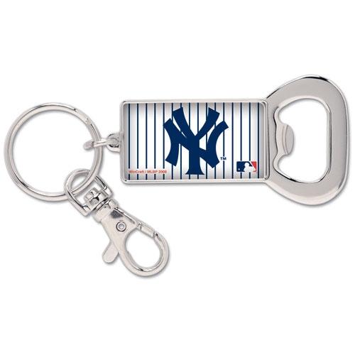 New York Yankees WinCraft Bottle Opener Key Ring Keychain - No Size