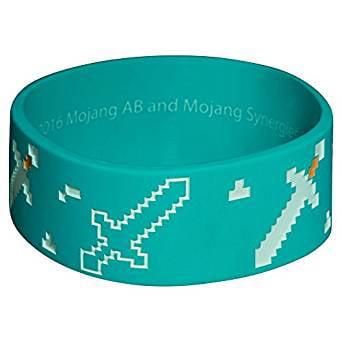 Wristband - Minecraft - Explorer Rubber Bracelet PVC j6221